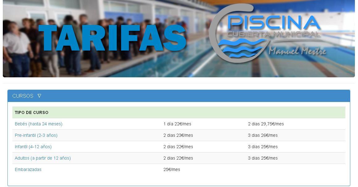 Promoci n piscina manuel mestre adecosur for Piscina 02 manuel becerra